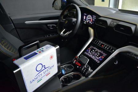 Sanificazione interni auto PROMO