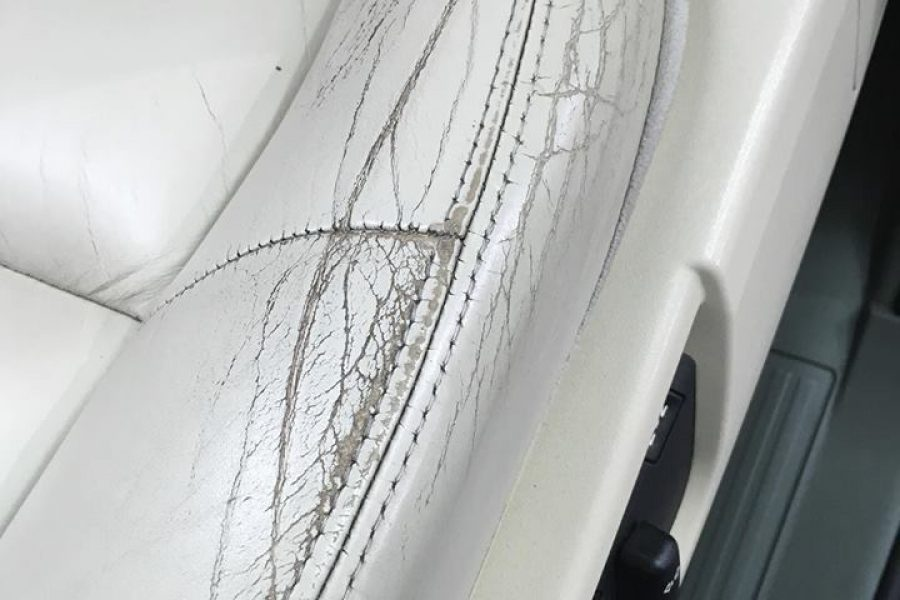 Riparazione Spalletta auto pelle