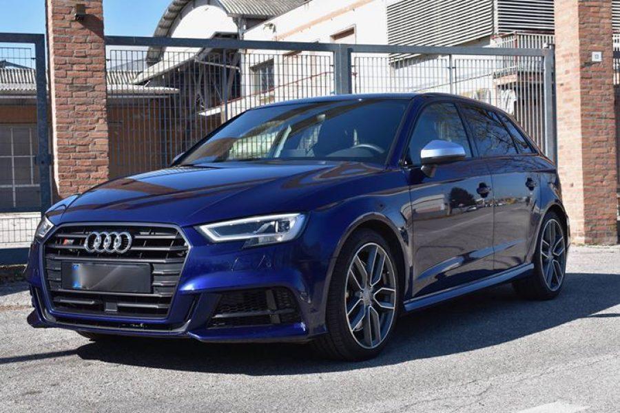 #Audi  #S3 di un fantastico Blu Navarra.. Il proprietario richiedeva l'eliminaz…
