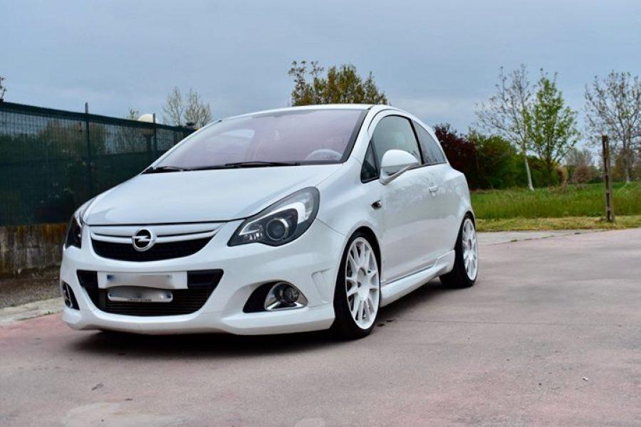 Lavoro impegnativo quello svolto su questa  #Opel  #Corsa  #OPC. Nonostante il s…
