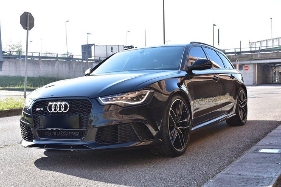 Non c'è dubbio, la  #Audi  #Rs6 è la familiare più incazzata che ci sia sul merc…