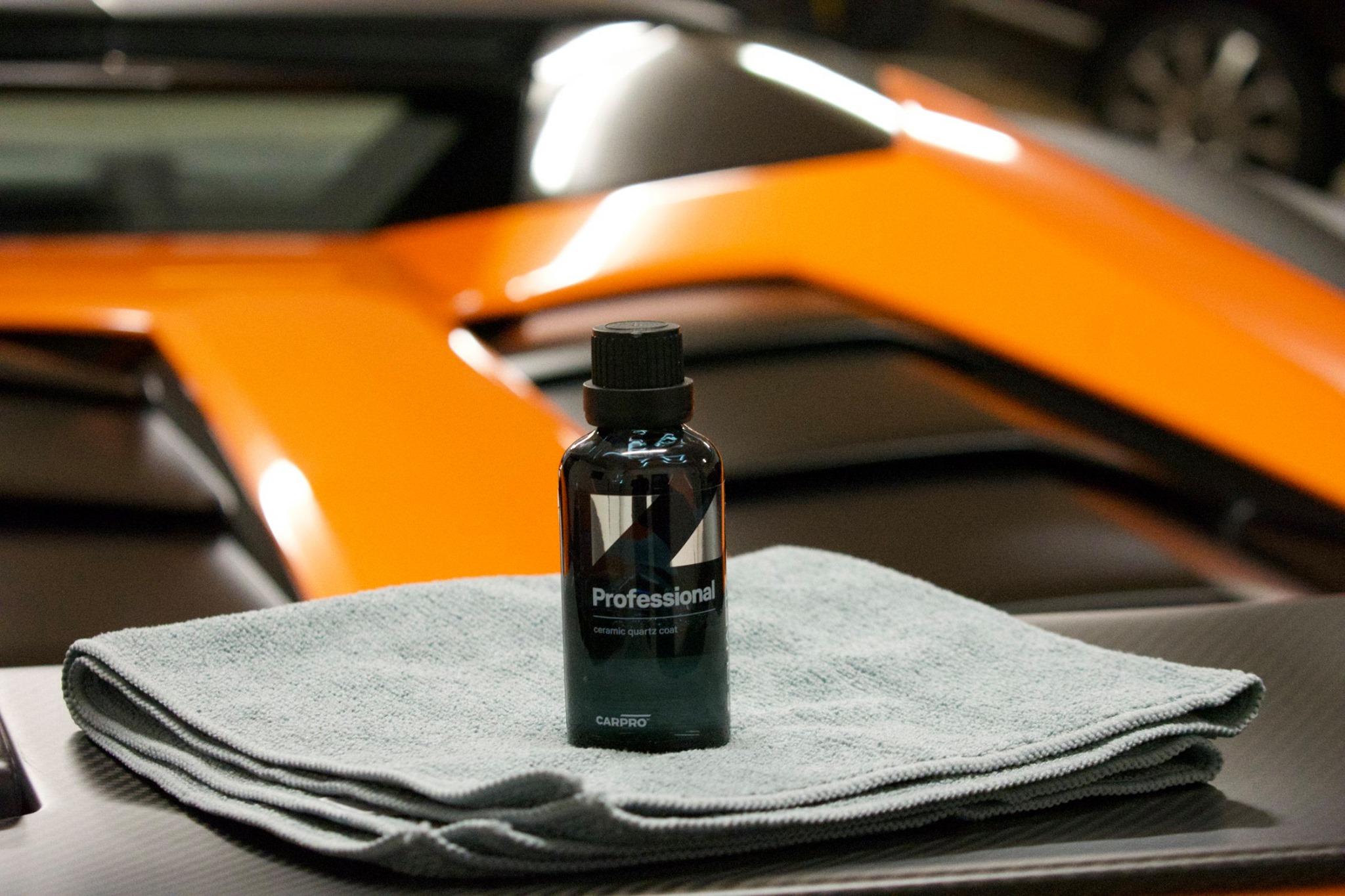 Nanotecnologia per carrozzeria CQuartz Professional è un prodotto esclusivame…